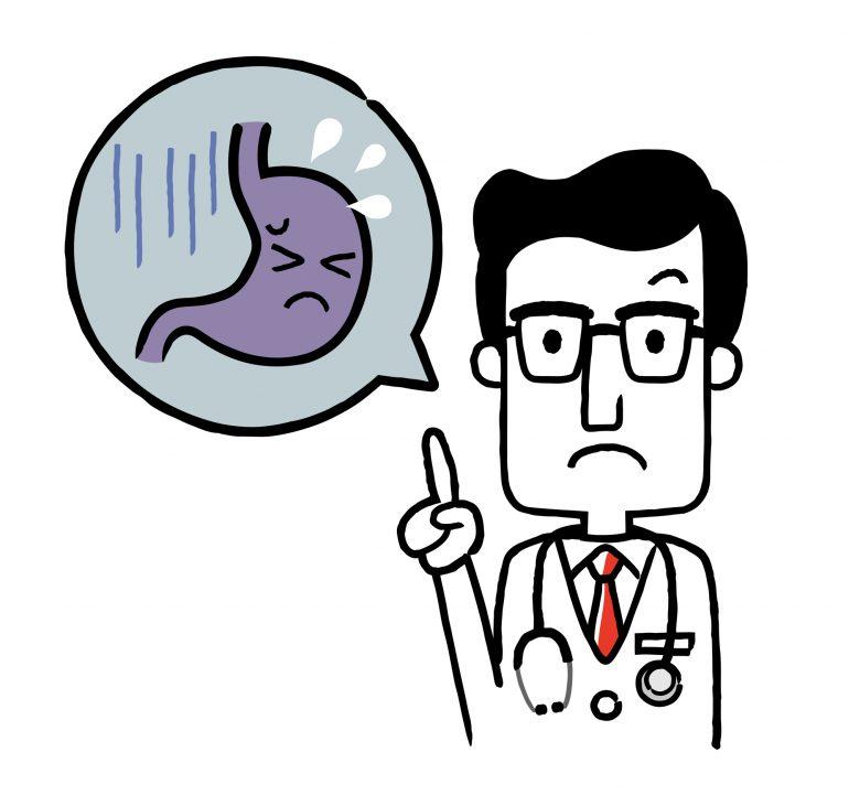 逆流性食道炎|荒井駅前のぐち内科クリニック